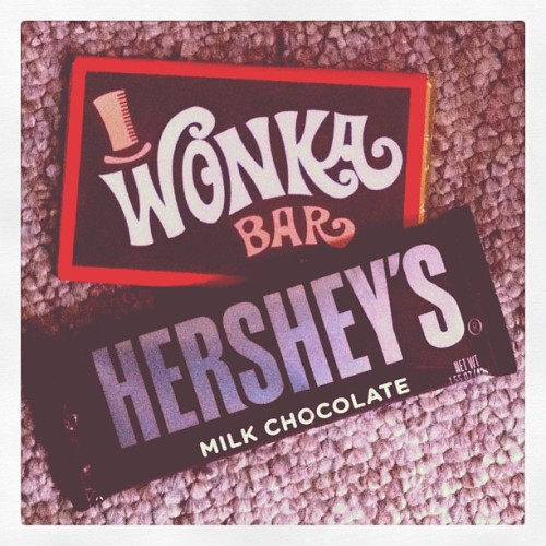 Lovely!!! #wonka #Hersheys #chocolate #bar #sexy