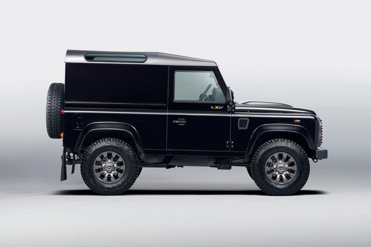 asthetiques:  Land Rover - Defender LXV Special Edition.