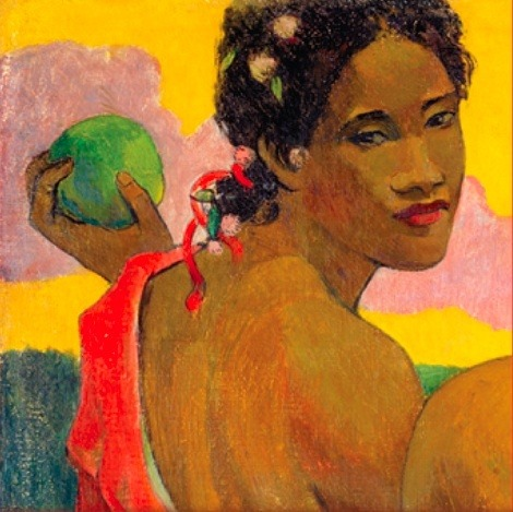 michellemlcr:   An Elusive Paradise (via Gauguin, Paul)