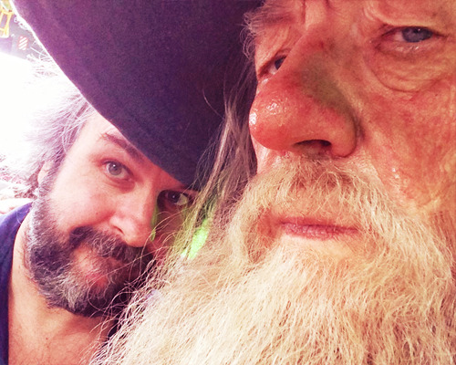 ohmylordoftherings:  Back on set for our last Hobbit pick ups. Our last ever Tolkien pick ups, in fact. It's going to be an intense few weeks, but we're looking forward to shooting some powerful scenes with our great cast. Our next blog is coming soon! (x)