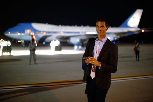 papermag:  My year with Mitt: NPR reporter Ari Shapiro tells us what it was like to travel with the Romney campaign for 12 months straight.