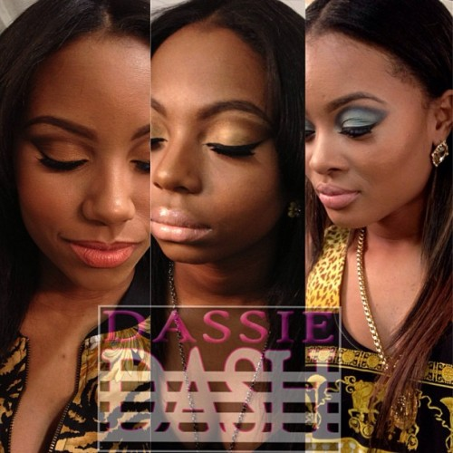 Today's faces #makeup by #dassiedash #mua