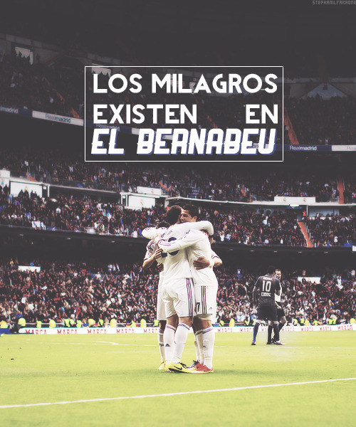 Miracles exist in the Bernabeu.