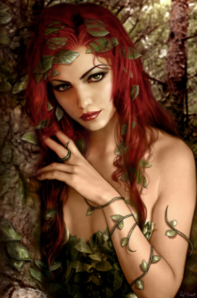 patientcomicaddict:  POISON IVY by Raf Marinetti