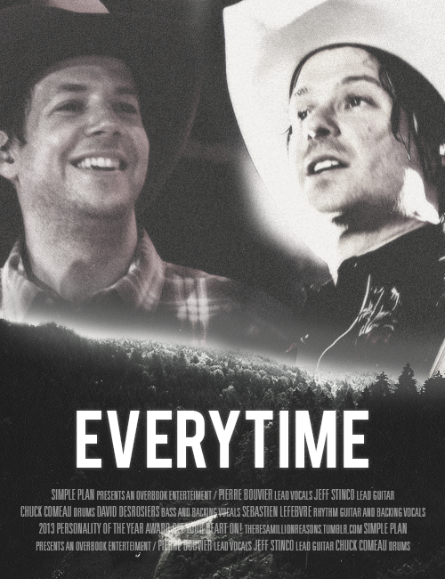 "POSTER MEME: Movie poster for ""Everytime"" asked by anon;"