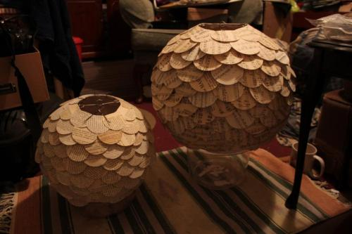 Day 63: Finished off some lampshade orders!