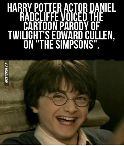 9gag:  Harry Potter Troll