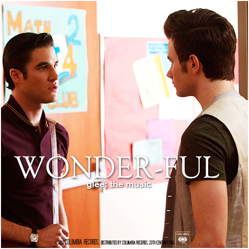 Glee: The Music, Wonder-ful Alternative Album Cover