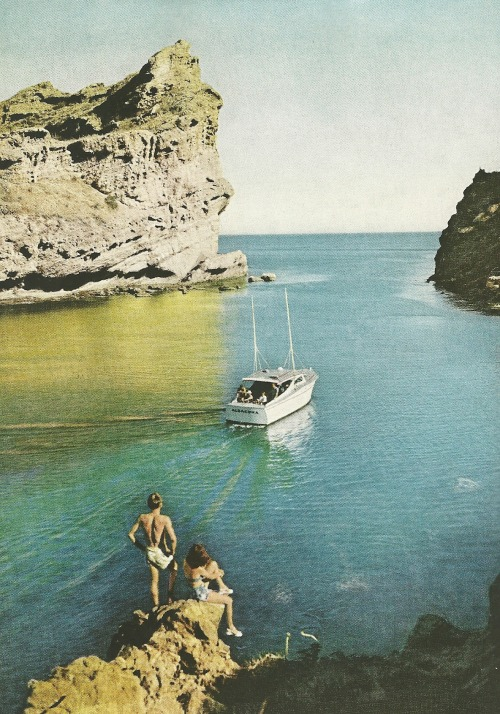 vintagenatgeographic:  Gulf of California National Geographic | February 1955
