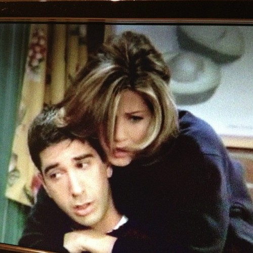 Love these two! #friends #rossandrachel #favoriteshow