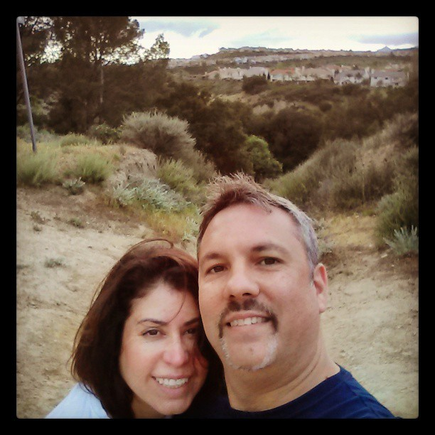 With Esther. (at Sesnon Hiking Trail)