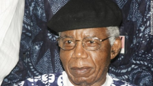"yagazieemezi:  (CNN) — Nigerian author Chinua Achebe, acclaimed in part for his 1958 novel ""Things Fall Apart,"" has died, his British publisher, Penguin Books, said Friday. He was 82. An author of more than 20 books, his honors included the 2007 Man Booker International Prize for Fiction, according to Penguin. He was also accorded his country's highest award for intellectual achievement, the Nigerian National Merit AwardPhotos: People we lost in 2013 Achebe is a major part of African literature, and is popular all over the continent for his novels, especially ""Anthills of the Savannah"" and ""Things Fall Apart."" The latter was required reading in countless high schools and colleges in the continent, and has been translated into dozens of languages. ""Things Fall Apart,"" set in precolonial Nigeria, portrays the story of a farmer, Okonkwo, who struggles to preserve his customs despite pressure from British colonizers. The story resonated in post-independent Africa, and the character became a household name in the continent. Achebe's stories included proverbs and tackled complex issues of African identity, nationalism and decolonization, adding to his books' popularity. He has also criticized corruption and poor governance in Africa, and has been known to reject accolades by the Nigerian government to protest political problems. Penguin Books' Twitter feed said: ""Chinua Achebe: a brilliant writer, and a giant of African literature. Nelson Mandela said he 'brought Africa to the rest of the world'. RIP."""