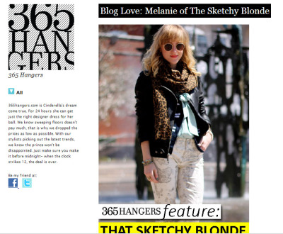 hey internet friendz, give my blog feature on 365Hangers a peek!