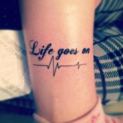 Body Ink… Love Tatoos / Life goes on. on @weheartit.com - http://whrt.it/15gGamS