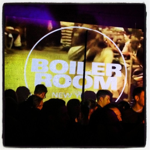 #boilerroomNY so down with @frankieknuckles
