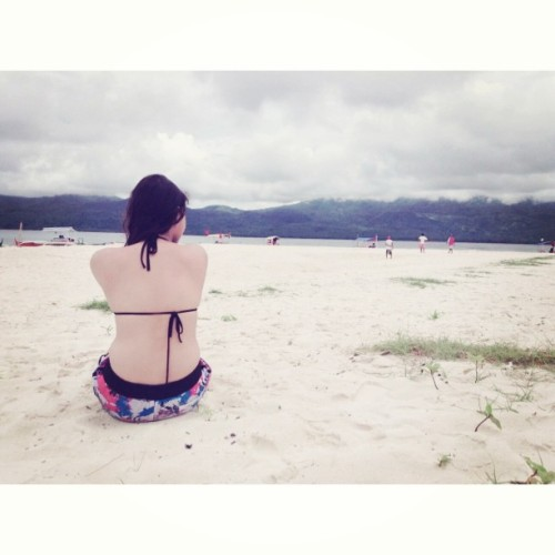 I miss the beach I miss the sun-kissed skin. #throwback  (at Mantigue Island)