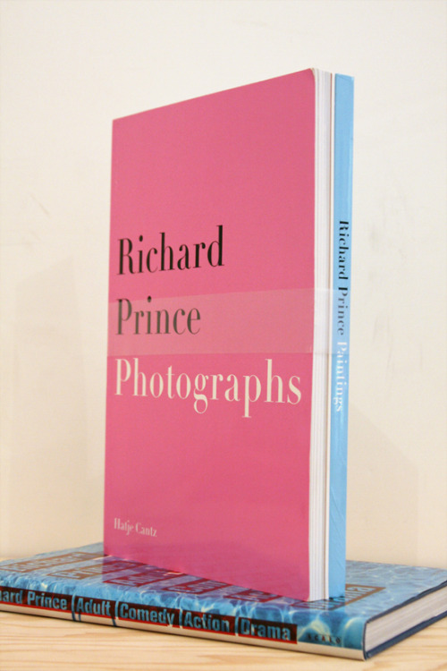 "Richard Prince, Paintings, Photographs ""This isn't my essay on Richard Prince. It's the imitation of my essay on Richard Prince, but rank with desire a really good imitation. One drink and I can't tell them apart."" Hatje Cantz, Ostfildern, 2002 12.5 x 9 inches (31.75 x 22.86 cm) $400 Purchase"