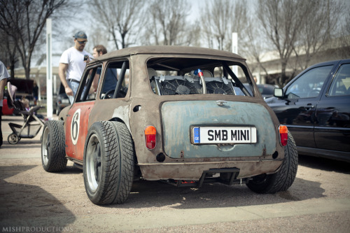 dreamgarage:  Porsche engined Mini