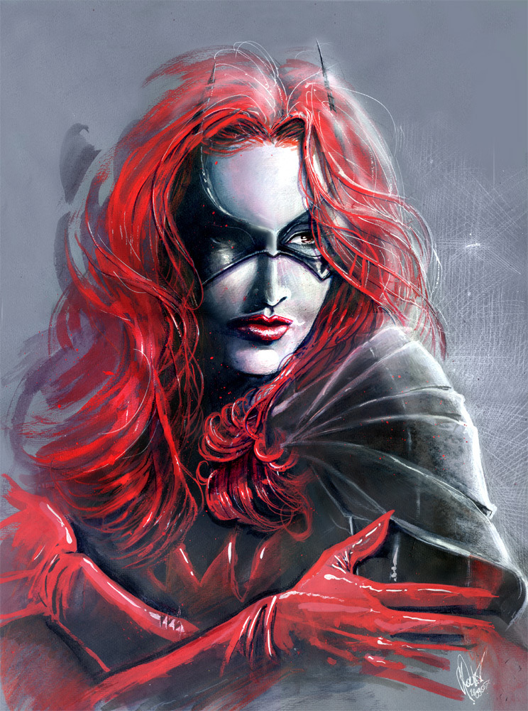 kirbyan:  BATWOMAN by *J-Estacado