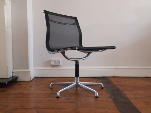 Designer: Charles & Ray Eames Maker: ICF Model: Aluminium Group Chair Design Year: 1958 Origin: Italy Price: POA