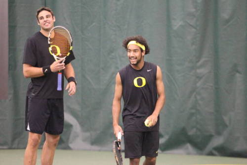 "Oregon Tennis: Ducks vs. Washington on Senior Day in Final Home Match of the Year Are you ready for some PAC-12 Men's Tennis RIVALRY action this Saturday at 1:00 PM?The No. 43 Oregon Ducks (16-6) will face the Washington No. 33 Huskies (15-10) at 1:00 PM this Saturday at the Student Tennis Center. It will be their last home match of the year, and the team will honor the graduating players on Senior Day in this rivalry match. Winning this match puts Oregon in the tournament. Admission is FREE as is the PIZZA that will be served at the game. ""This is THE BIGGEST MATCH OF THE YEAR for the Oregon Ducks Men's Tennis Team in our journey to the NCAA Tournament,"" says Oregon star Robin Cambier.Please come down to the tennis match, bring all your friends and family members and cheer on your Oregon Ducks to another home victory!Be there, bring as many people as you want, and BE LOUD!!! Click this photo (or this link) to confirm you are attending.#GoDucks #BeatTheHuskies Be sure to follow @OregonPitCrew on Twitter."