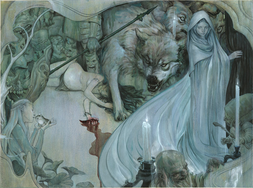 James Jean (Taiwanese American) - Fables Fables: 1001 Nights of Snowfall, 2006 Fables: 1001 Nights of Snowfall is a graphic novel prequel to the comic book series Fables written by series creator Bill Willingham. http://forums.superherohype.com/showthread.php?p=20180331