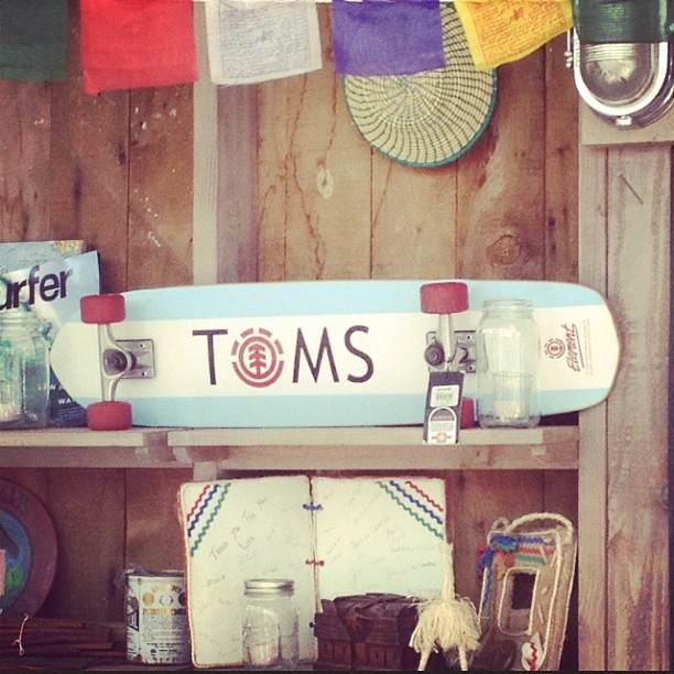 Went to Toms store with @piper_matthews #toms #store #skateboard #venice @toms