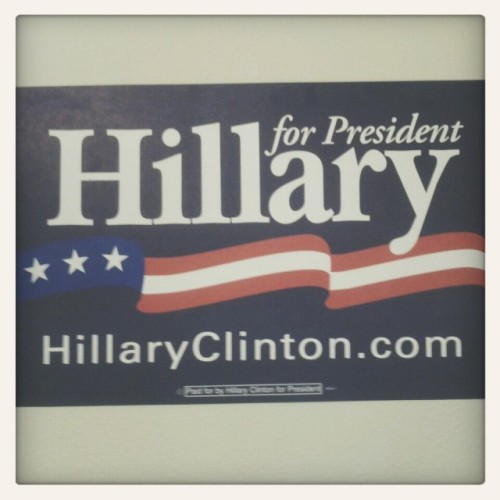 Ready For Hillary at Pacific Union College by Giovanni Hashimoto on EyeEm