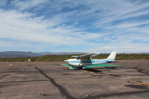 My classmate recently got checked out in a family friends' Cessna 172. The Lycoming O-320 engine was rebuilt 50 hours ago with a performance package which spits out 180hp.  We headed out of KCHD yesterday morning for lunch at Sedona. With the rebuilt engine, we were climbing at 1,000 ft/m with 4 passengers at max gross weight.  Best part? We only have to pay the cost of fuel. It ran us $12.50 per person per hour.