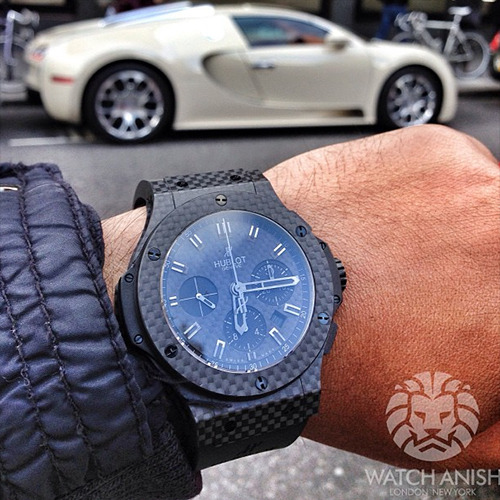 watchanish:  Hublot x BugattiLive Feed