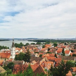 Zemun view. #serbia #belgrade #zemun #city #view #scenery (at Gardoš Kula | Millenium Tower)