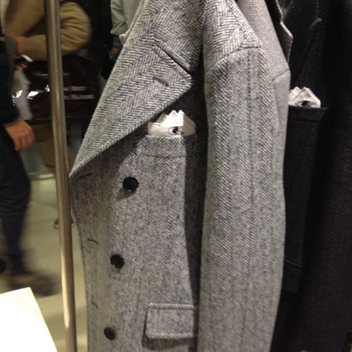 Get ready to buy a new tweed coat for next fall! JM