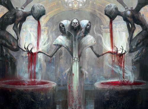 "Debt to the Deathless by Seb McKinnon ""Some of Orzhov's cruelest collectors remember their debtors by taste alone."""