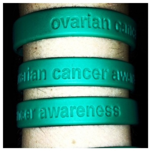 nccancercare:  Ovarian cancer is the fifth most common cancer among women causing 15,000 deaths a year.(Source: Ovarian Cancer Awareness)Ovarian cancer is difficult to detect and could often be fatal when detected too late. If diagnosed at an early stage, the five-year survival rate is more than 93 percent. The cause is unknown but there are some factors that could increase your risk. Taking oral contraceptive, giving birth and breast feeding are a few ways to reduce your risk of ovarian cancer. Risk factorsCertain risk factors may increase your risk or ovarian cancer. Having one or more of the risk factors does not mean that you will develop it, but your risk is higher than the average woman. These risk factors include the following: Not giving birth Giving birth at a late age Mutations in the genes BRCA1 or BRCA2 Women who have had breast cancer or have a family history of breast cancer or ovarian cancer Women who take estrogen replacement for five or more years Older women  SymptomsThe most common symptoms for ovarian cancer are hard to classify and are often symptoms to other diseases, so by the time cancer is diagnosed the tumor has often spread. Some symptoms for ovarian cancer are as follows: Bloating Difficulty eating Pelvic of lower abdominal pain Abnormal menstrual cycles Digestive symptoms Constipation Increased gas Lack of appetite Nausea and vomiting Back pain Vaginal bleeding Weight gain or loss Sudden urge to urinate    If you are encountering any of these symptoms, notify your doctor as soon as possible. TreatmentTreatment for ovarian cancer usually involves a combination of surgery and chemotherapy. Hysterectomy Bilateral salpingo-oophorectomy (removal of other ovaries and fallopian tubes Examination, biopsy, or removal of the lymph nodes and other tissues in the pelvis and abdomen Chemotherapy Radiation