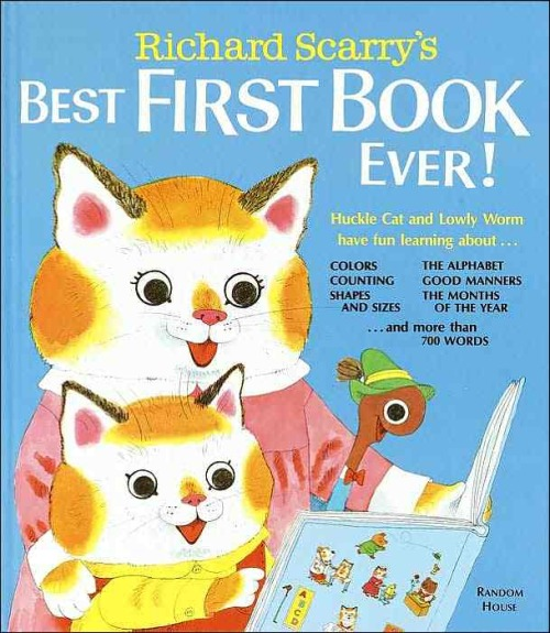 Richard Scarry's art is just too good.