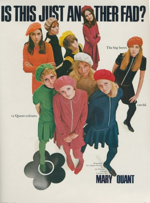A 1967 Mary Quant advertisment.