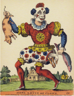 Monsieur Louis as Clown (1810?)