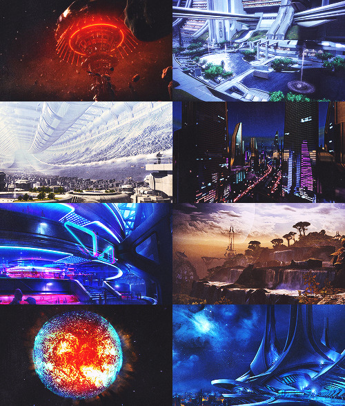 Mass Effect + Scenery