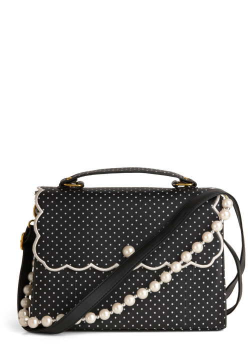Shop the Pin Dots and Proper Bag.