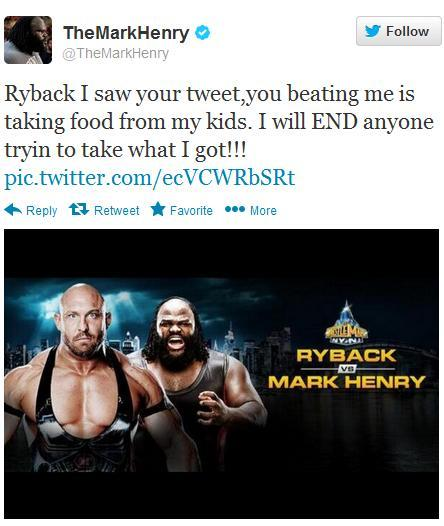 The Ryback don't want none!