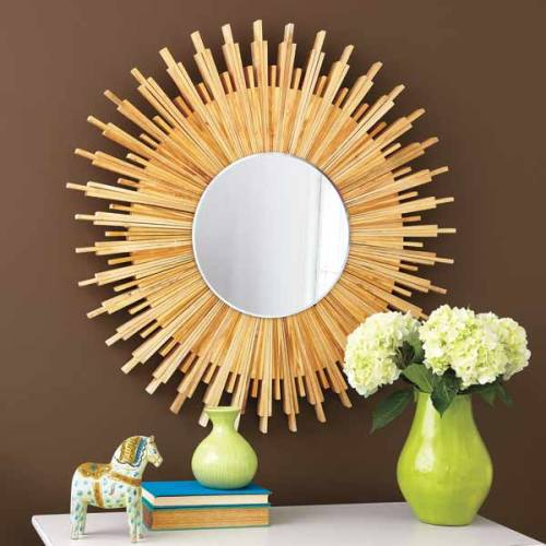 thisoldhouse:  Make This Mirror Using Shims(Photo: Ryan Benyi)