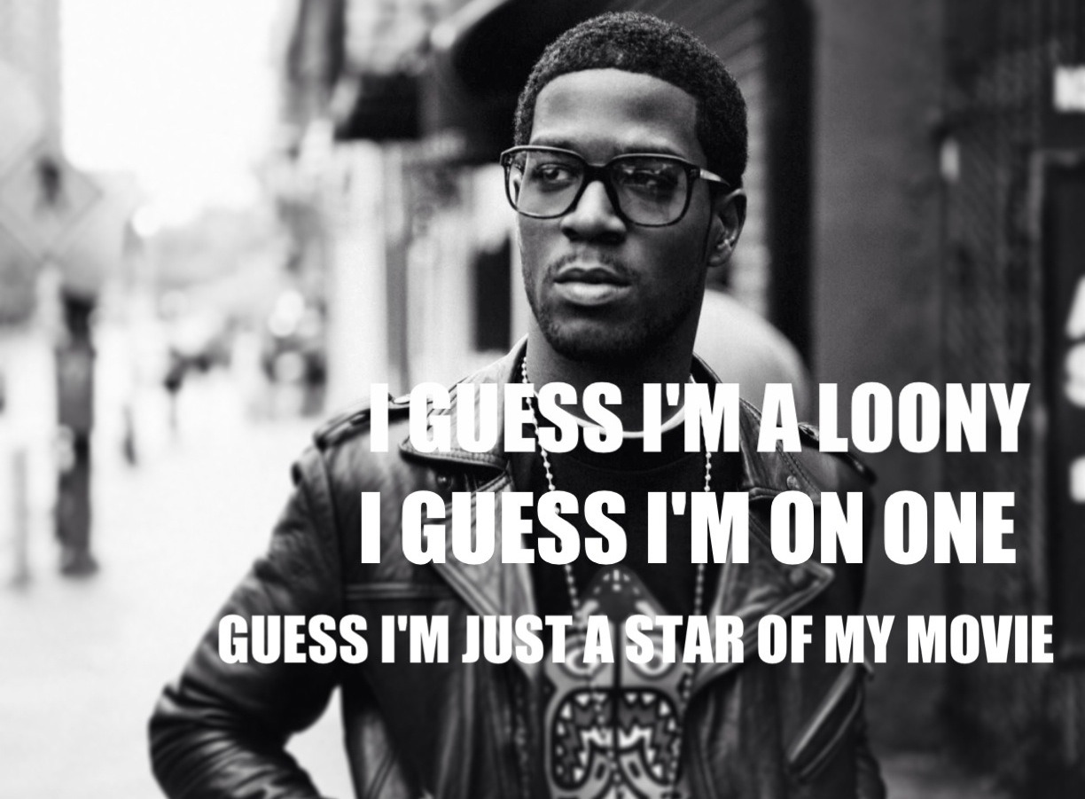 A KID NAMED CUDI.