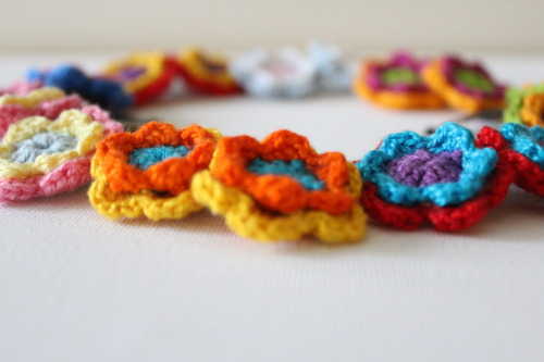 Crochet Hairclips