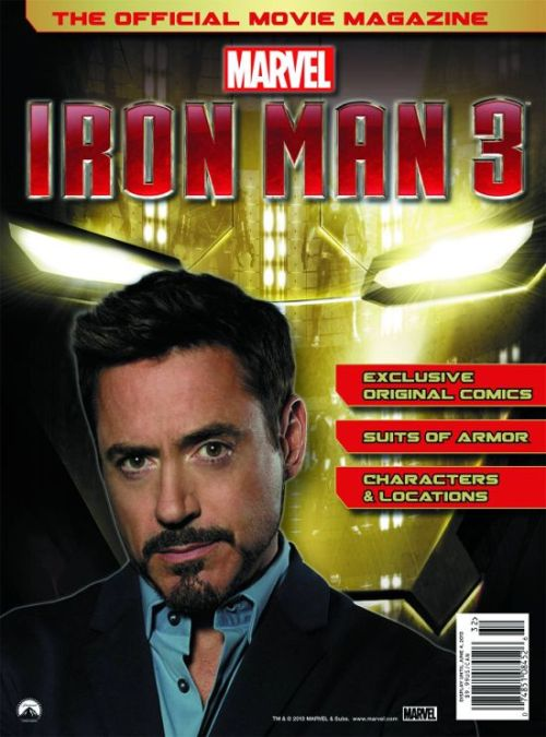 Marvel's Iron Man 3: Official Movie Magazine cover.