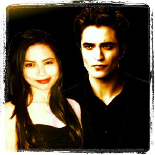 Nyahaha! When boredom strikes! The twilight saga! Full moon siguro?  #edwardcullen #twilight #vampire