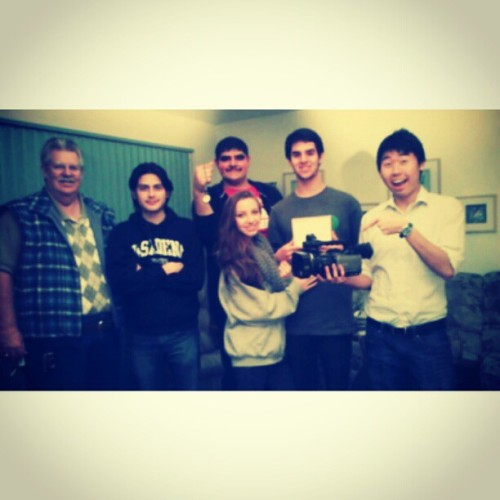 "The Amazing Film Production Team for ""Time…"" <3"