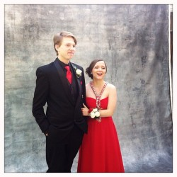 myheroisyou:  Wait look how cute we are 😍 #prom2013 @olinthor