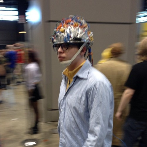 podracerdave:  Louis from #Ghostbusters #Cosplay at #C2E2  Now this is epic and cool at the same time.