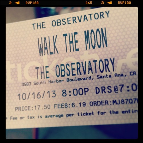 Found this in the mail 🎶🌙 @bethany_tsukiko @jon_doer #walkthemoon #concert #happy #autumn #annasun #quesadilla #tightrope #cantwait #goodtimesahead