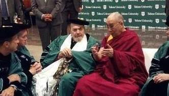wellbottomblues:  Dr. John and the Dalai Lama in New Orleans. I think the DL can call his trip to New Orleans complete.